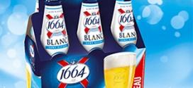 Test bières 1664 Blanc (avec et sans alcool) : 6000 packs gratuits