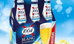 Test bières 1664 Blanc : 6000 packs gratuits