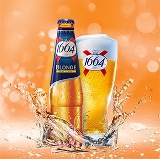 Test de la bière 1664 blonde sans alcool : 6000 packs gratuits