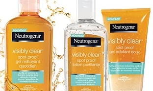 Test Neutrogena : Soins Visibly Clear Spot Proof gratuits