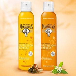 Test de produits Le Petit Marseillais : Sprays hydratants gratuits