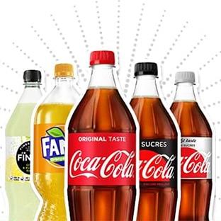 Bons de réduction Coca-Cola, Fanta, Fuze Tea, Sprite, Finley…