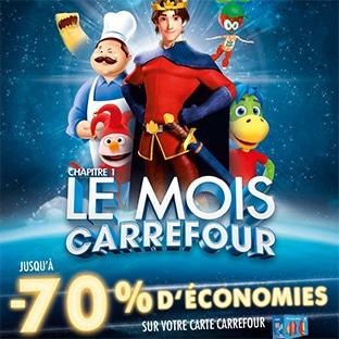 Catalogues Le Mois Carrefour 2018 : promos avec jusqu'à 80% remboursés