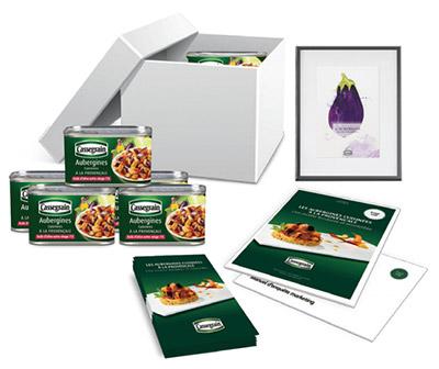 Testez gratuitement les boîtes d'Aubergines Cassegrain