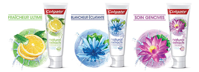 Testez gratuitement un dentifrice Colgate Natural Extracts
