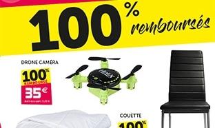 Bon plan Gifi : Chaises, couette et drone 100% remboursés