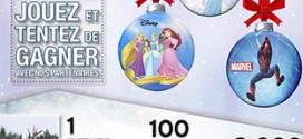 Jeux Intermarché instants gagnants : 8101 lots Disney à gagner