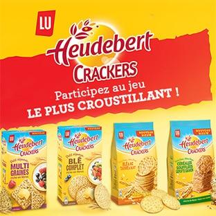 Jeu Ma vie en couleurs : 50 lots de crackers Heudebert à gagner