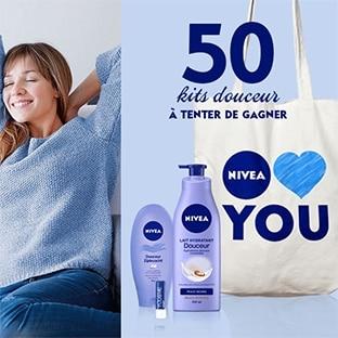 Jeu Nivea : 50 kits douceur à gagner avec Femme Actuelle