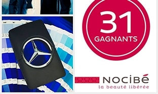 Jeu Nocibé Noci-Quiz : 32 parfums Mercedes-Benz à gagner