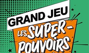 Super Pouvoirs Leclerc : Jeu avec carte à code