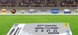 Jeu Unilever (achats) : 600 places de match de football à gagner