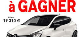 Jeu Blancheporte : Une voiture Renault Clio à gagner