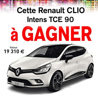 jeu blancheporte une voiture renault clio gagner. Black Bedroom Furniture Sets. Home Design Ideas