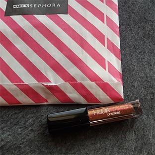 Rouge à lèvres Huda Beauty gratuit chez Sephora avec Tapage