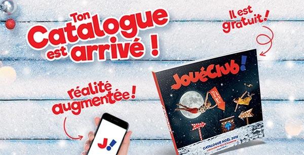 Recevez gratuitement le catalogue de Noël 2018 des magasins Joué Club