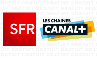SFR box TV : Bouquet CANAL+ gratuit en octobre 2019