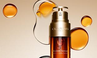 Test Clarins : 100 Double Serum gratuits sur Aufeminin