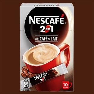 Test des sticks Nescafé 2en1 : 4000 boîtes gratuites