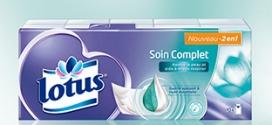 Test des mouchoirs Lotus Soin Complet : 2000 packs gratuits