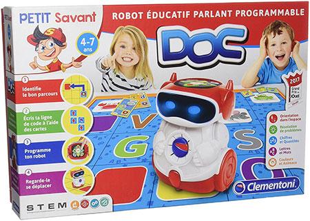 Doc robot éducatif programmable de Clemanton