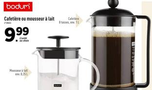 Promo Lidl : Cafetière piston Bodum