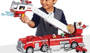 Camion pompier Pat Patrouille de Paw Patrol moins cher pour Noël 2018