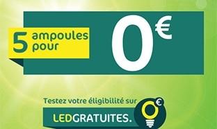 Testez votre éligibilité pour les LED Carrefour