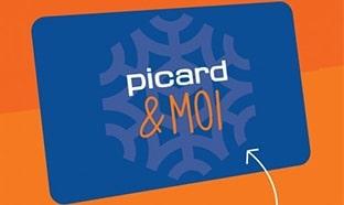Carte fidélité Picard & Moi gratuite