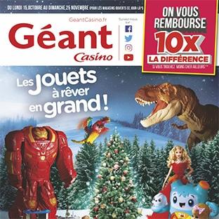 Catalogue jouets Géant Casino Noël 2018 en ligne