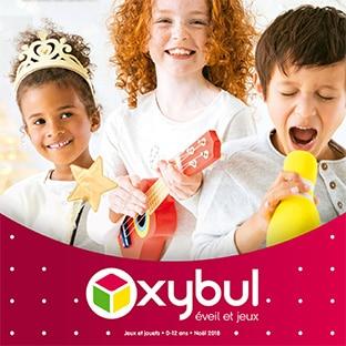 Catalogue Oxybul de Noël 2018 en ligne : Éveil et jeux