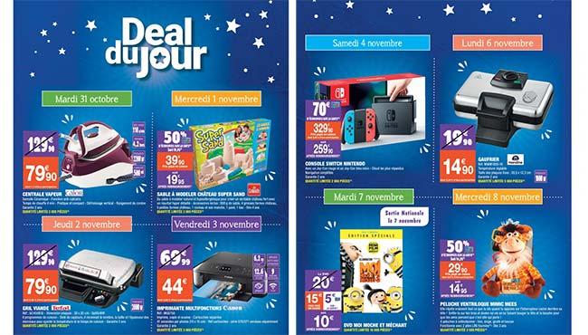 Les deals du jour de Carrefour Market