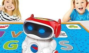 Doc le robot éducatif parlant Noël : Moins cher