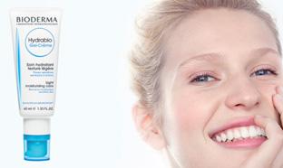 Échantillons gratuits du soin Hydrabio gel-crème de Bioderma
