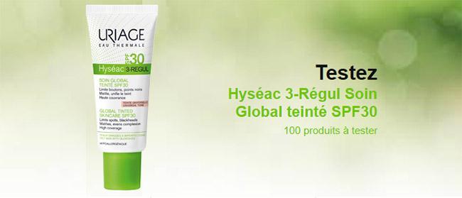 test des soins global Hyséac 3-Régul de Uriage