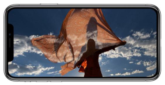 L'iPhone X, le dernier smartphone d'Apple à remporter