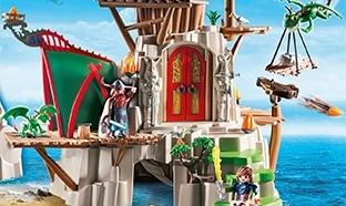 Jeu Auchan : 140 lots Playmobil Dragons et 1 week-end