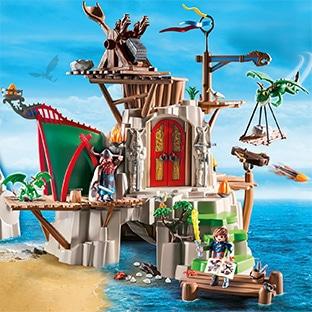 Jeu Auchan : 140 lots Playmobil Dragons et 1 week-end