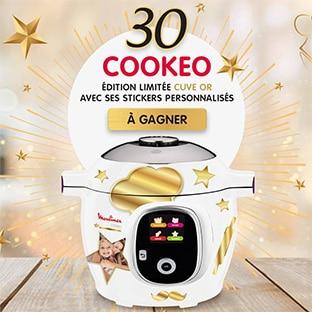 Jeu Moulinex : 30 robots Cookeo édition limitée à gagner
