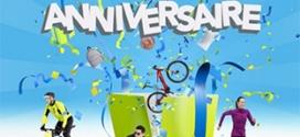 Jeu Anniversaire Intersport : 1020 cadeaux et 1 séjour à gagner