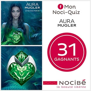 Jeu Nocibé Noci-Quiz : 31 parfums Mugler Aura à gagner
