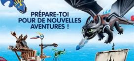 Jeu Gulli : 50 jouets Playmobil Dragons à gagner