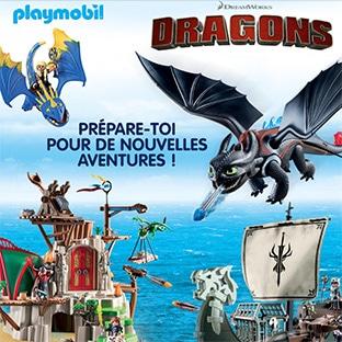 Jeu Gulli 50 Jouets Playmobil Dragons A Gagner
