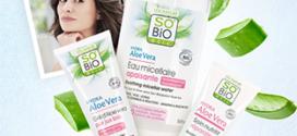 Jeu SO'BiO étic : 40 routines Bio Peaux Sensibles à gagner