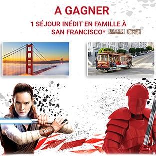 Jeu La Grande Récré Star Wars : Séjour à San Francisco à gagner