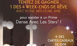 Jeu Yves Rocher Danse avec les Stars : Week-ends à gagner