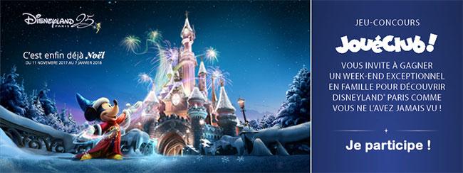 remportez un séjour à Disneyland et de nombreuses invitations