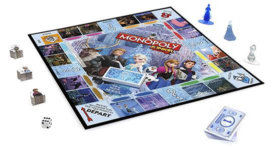Monopoly La Reine des Neiges Hasbro avec 60% de réduction