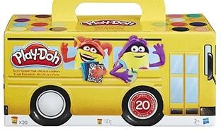 Promo Amazon : Pack de 20 pâtes à modeler Play-Doh à 14,99€