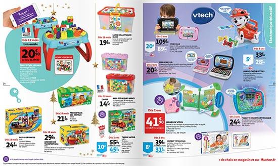 Prospectus des jouets de Noël 2018 des magasins Auchan